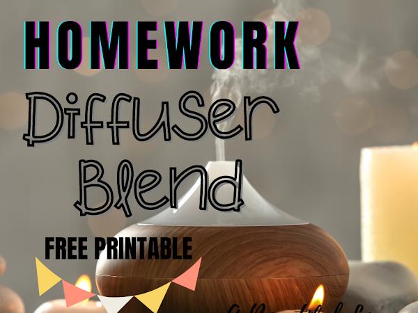 Homework Diffuser Blend