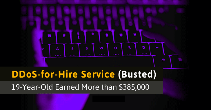 19-Year-Old Teenage Hacker Behind DDoS-for-Hire Service Pleads Guilty