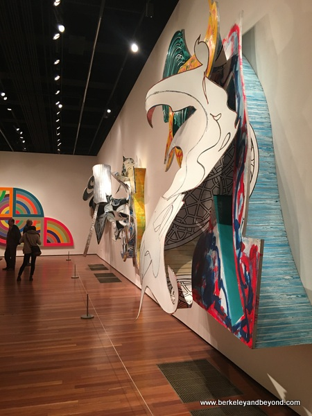 Frank Stella Retrospective at the de Young Museum in San Francisco, California