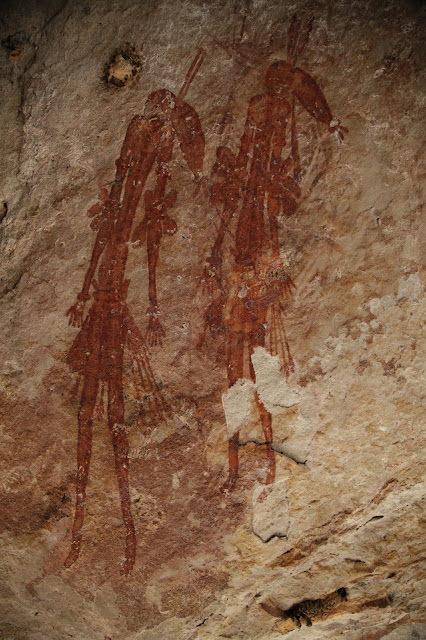 Wasp nests used to date ancient Australian rock art
