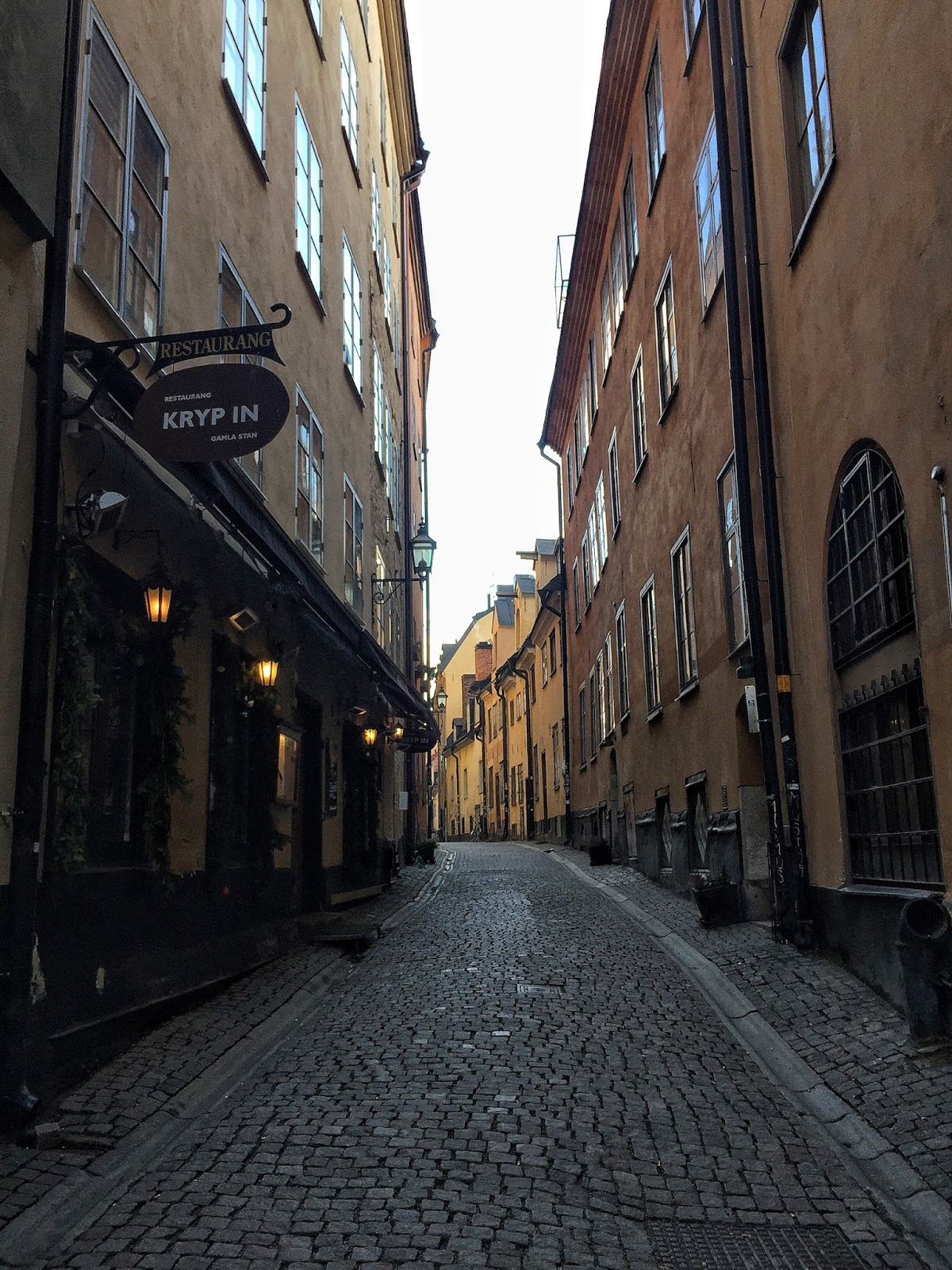 Travel diary stockholm sweden Gamla Stan