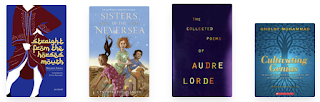 Book covers for books listed below