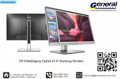 "HP EliteDisplay E223d 21.5"" Docking Monitor"