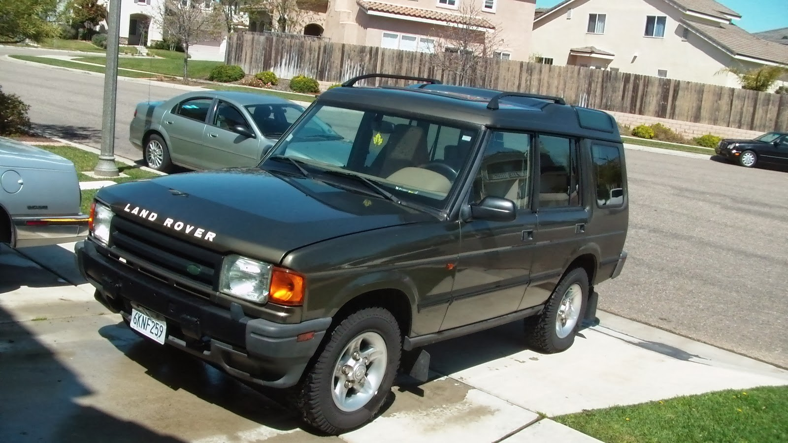 Land Rover Discovery Manual