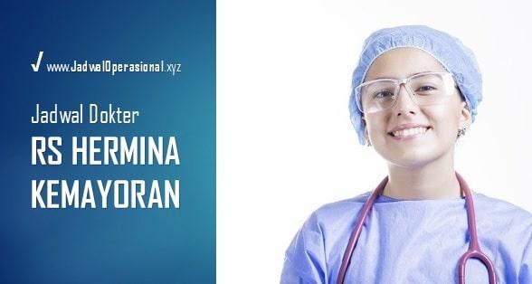 Jadwal Dokter RS Hermina Kemayoran