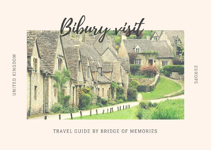 Visiting Bibury