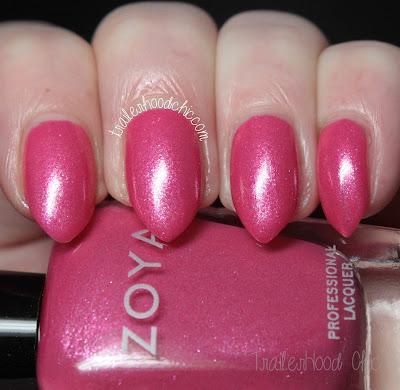 zoya petals swatches review azalea