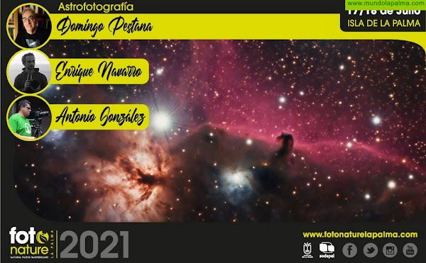 Sodepal vincula los nuevos talleres de Fotonature 2021 al espectacular cielo de La Palma