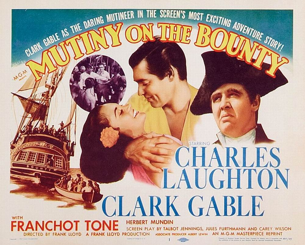Image result for mutiny on the bounty poster 1935