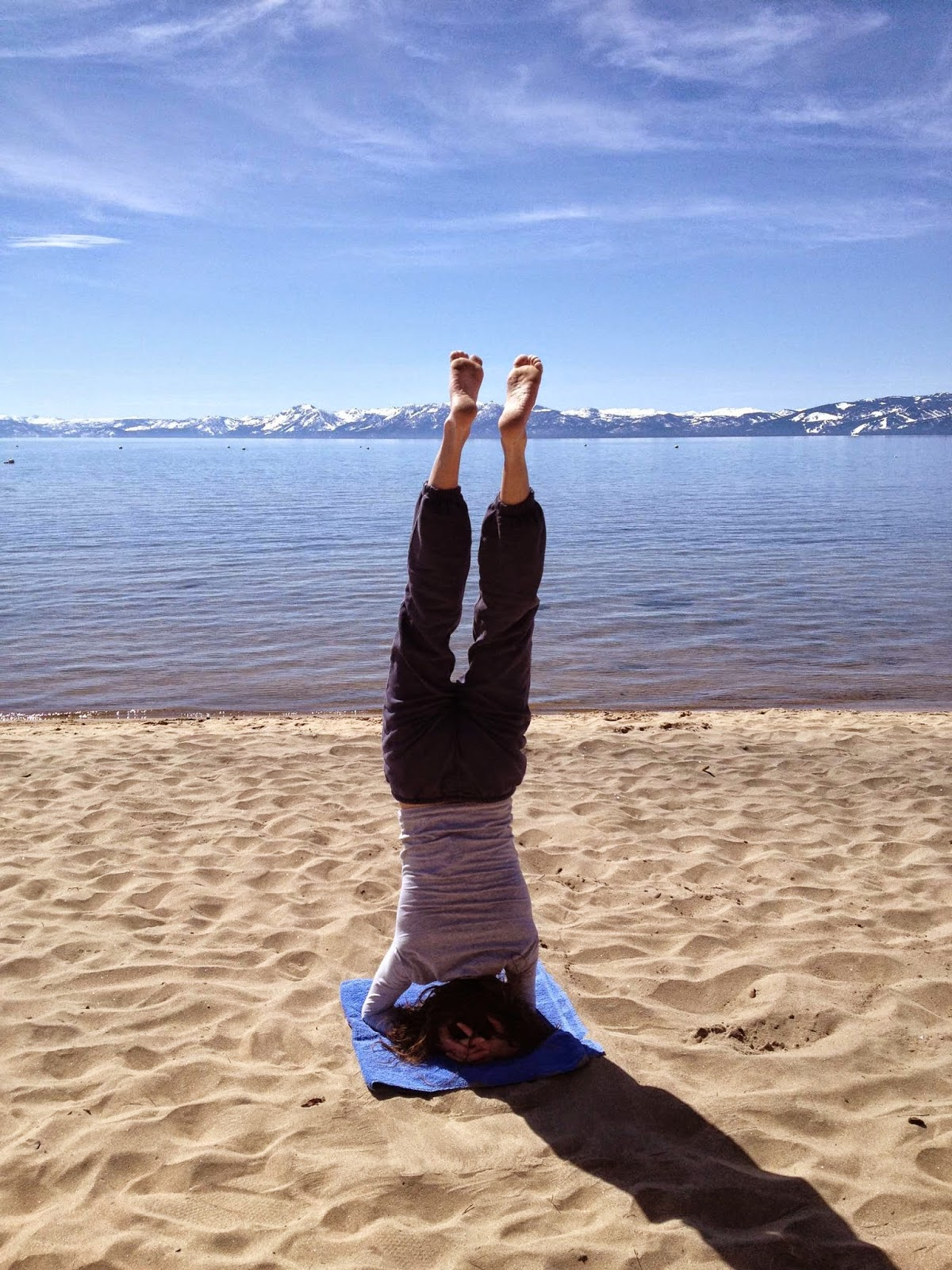 Andrea Elson Fotos andrea elson blog: forearm balance at king's beach, lake tahoe
