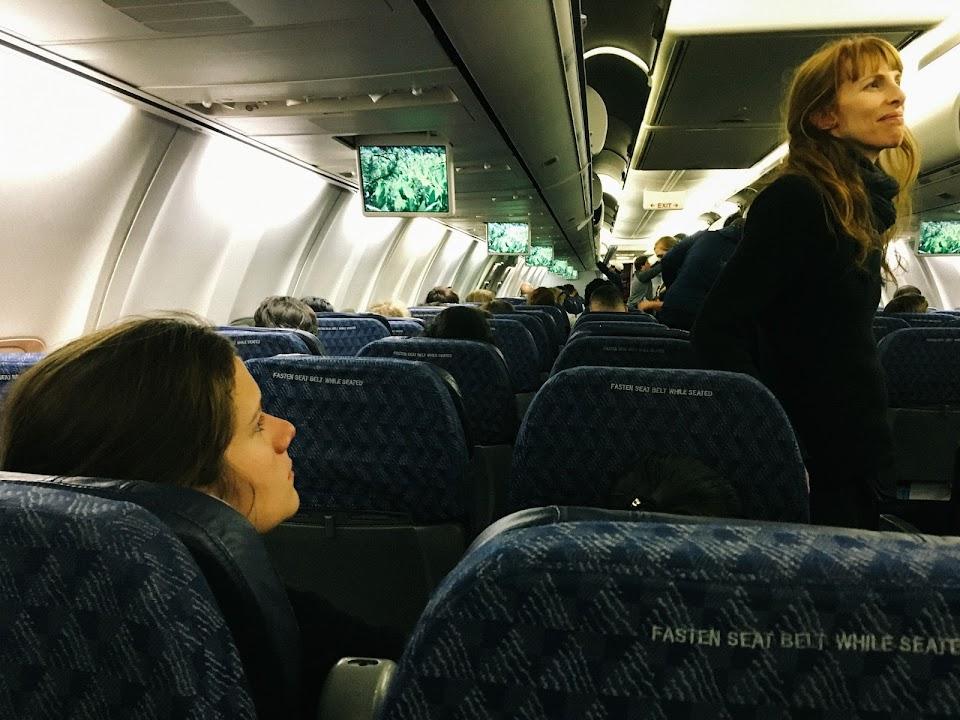 アメリカン航空AAAA2472 機内