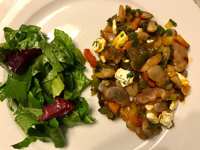 Madagascar Bean With Feta And Veggies Recipe