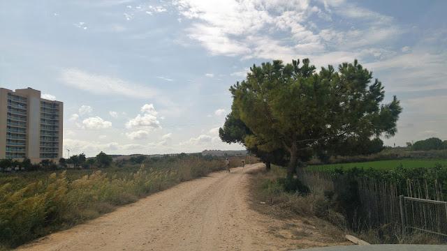 Santa Pola - Guardamar en bici