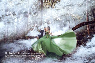 Review anh viện cưới chụp hình đẹp ở đà lạt K Studio