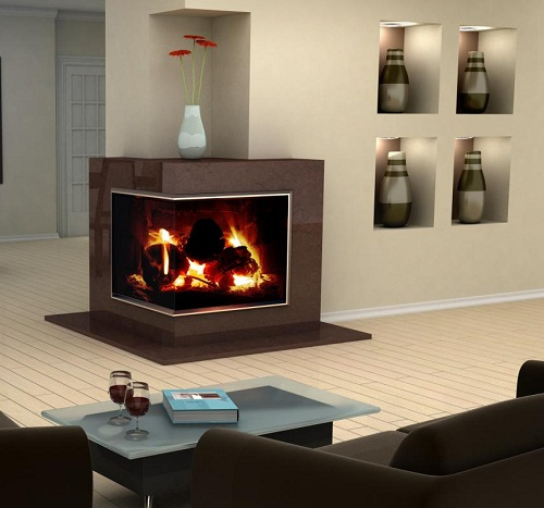 Pre-Fab Fireplace Designs - AyanaHouse
