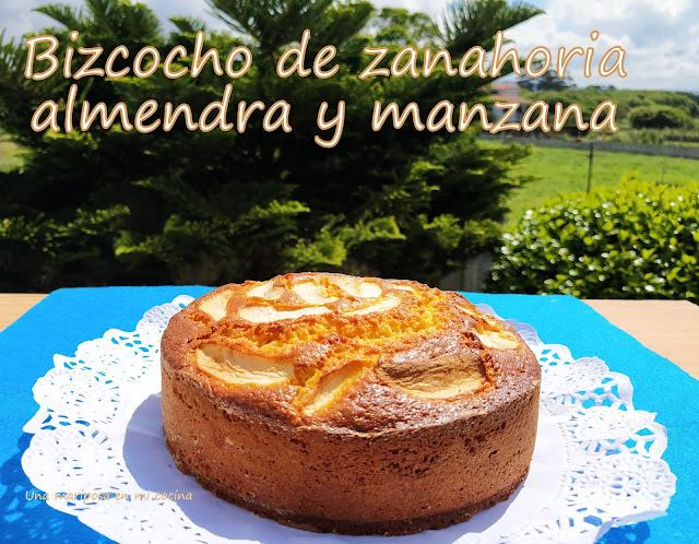 Bizcocho De Zanahoria, Almendra Y Manzana