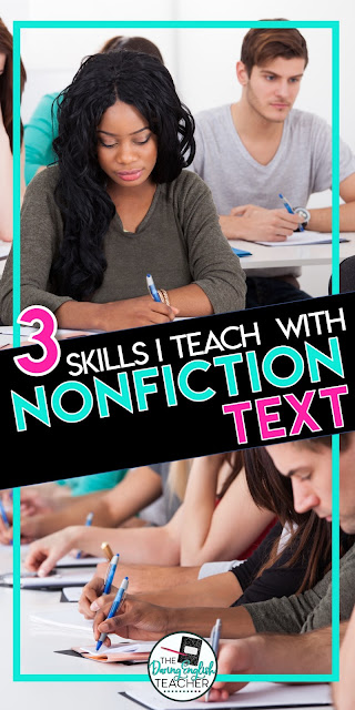 3 Skills I Teach With Nonfiction Text