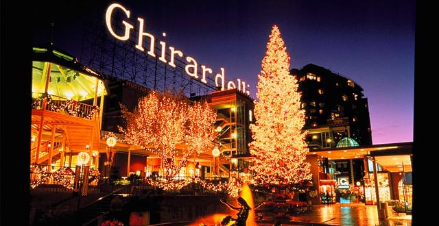 Árvores de Natal em San Francisco