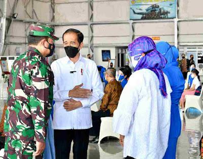 Presiden Jokowi Kunjungan Kerja ke Jatim, Silaturahmi dengan Keluarga Patriot KRI Nanggala 402