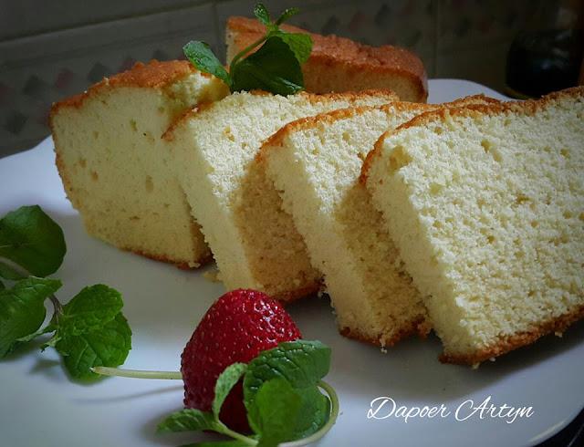Resep Castella Sponge Cake Yang Lembut dan Enak