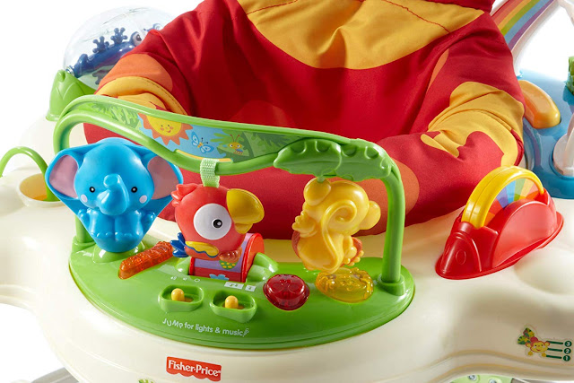 Fisher Price Rainforest Jumperoo Review