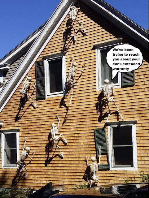 halloween decoration ideas - We've been trying to reach you about your car's extended warranty