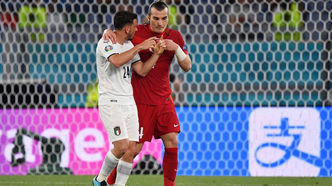 تقرير مباراة سويسرا وايطاليا في الجوله الثانيه من يورو 2021