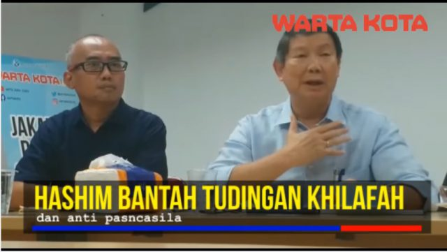 Timses Prabowo-Sandi Menjawab Tudingan Khilafah dan Anti Pancasila