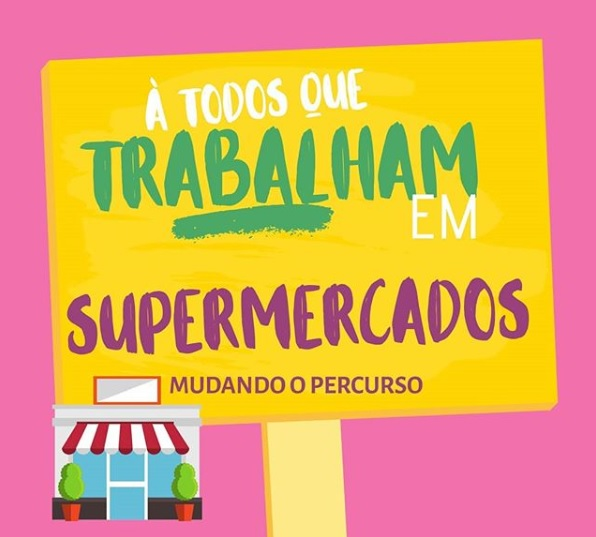Supermercados e o Coronavírus -  Funcionarios e prestadores de serviço, meu apoio
