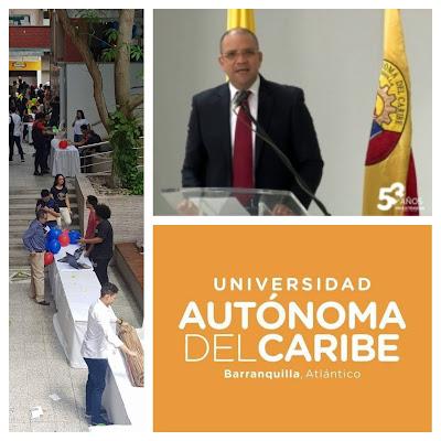 Mauricio Javier Molinares Cañavera, rector de la Universidad Autónoma del Caribe