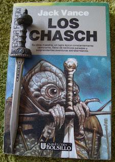 Portada del libro Los Chasch, de Jack Vance