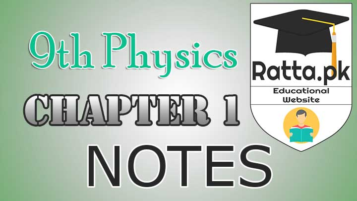 9th Physics Chapter 1 Motion Notes