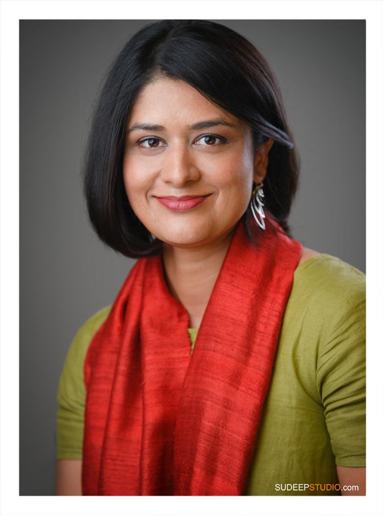 Book Author Portrait for University of Michigan Academic SudeepStudio.com Ann Arbor Author Headshot Photographer