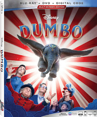 Disney's Live action Dumbo Bluray