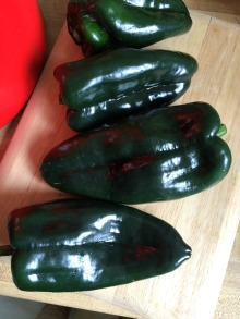 Gluten Free Chile Rellenos with Cheese Favorite Family Recipes Ancho peppers