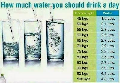 Kandungan Air Dalam Tubuh