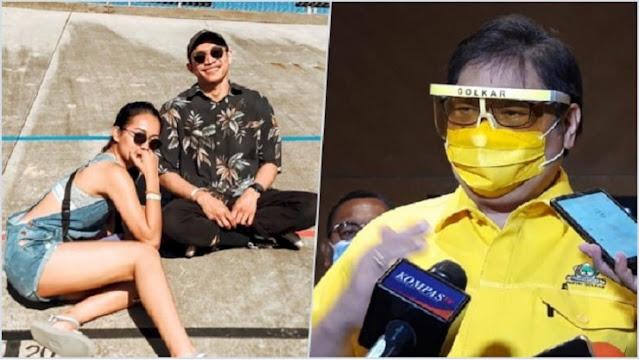 Lagi Viral, Unggahan Anak Menteri Airlangga Jadi Sorotan: Kalian Pakai Masker untuk Siapa?