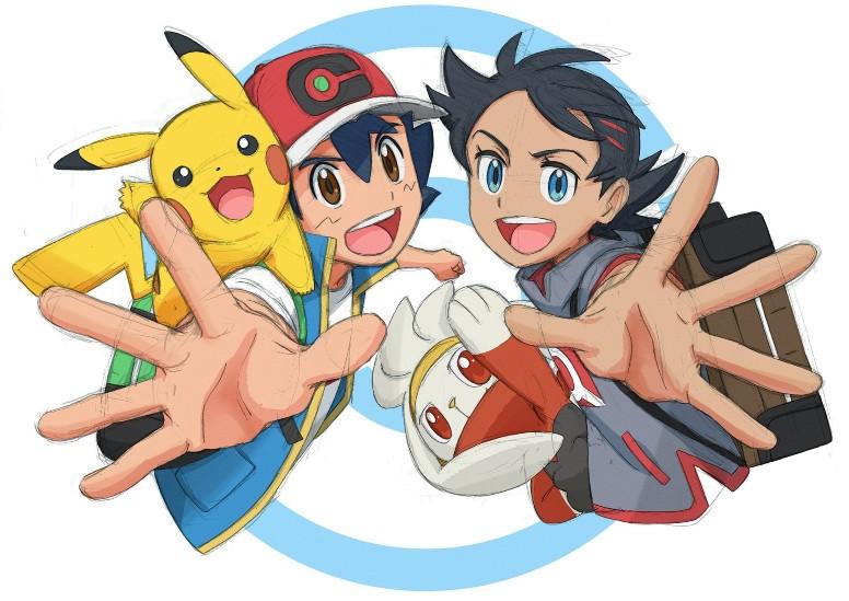 Anime Pokémon Ash Goh