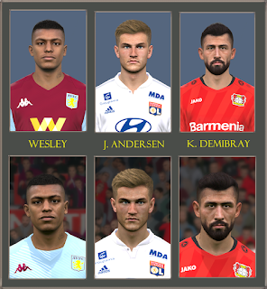 PES 2017 Fix Head Size ( Wesley-Andersen-Demibray (t99 v.4) )