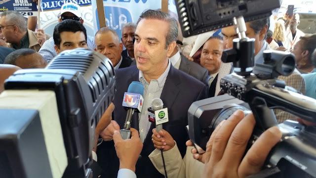 """Luis Abinader al PLD: """"Estamos hartos y cansados de tanta corrupción y desorden"""""""