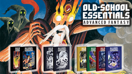 Old School Essentials Advanced Fantasy Kickstarter