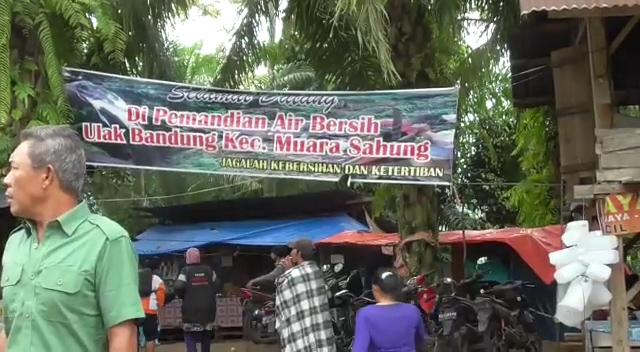 Pemandian Air Ulak Bandung Muara Sahung Dipercaya Warga Sembuhkan Penyakit