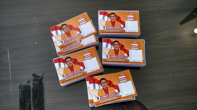 Kartu Nama Partai Calon Legislatif