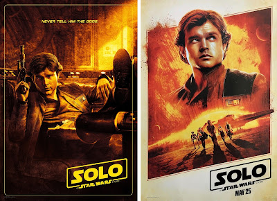 Solo A Star Wars Story Teaser Theatrical One Sheet Movie Posters
