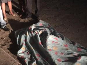 Adolescente foi atingido com um tiro nas costas (Foto: Giro de Notícias)