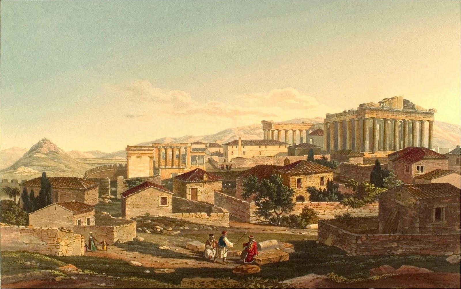 Η Αθήνα το 1800