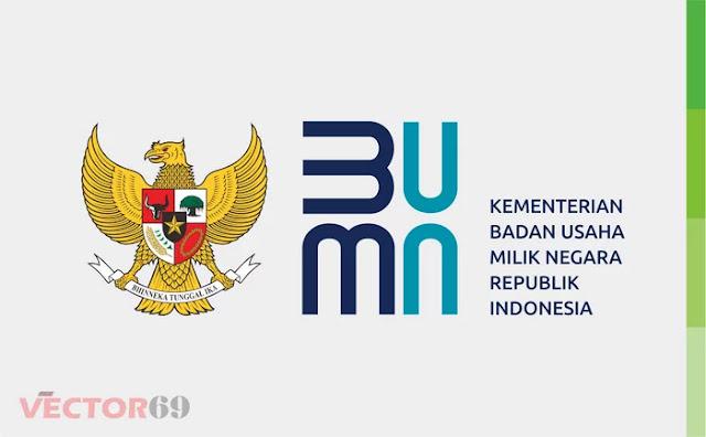 Logo Kementerian BUMN Republik Indonesia (Baru 2020) - Download Vector File CDR (CorelDraw)