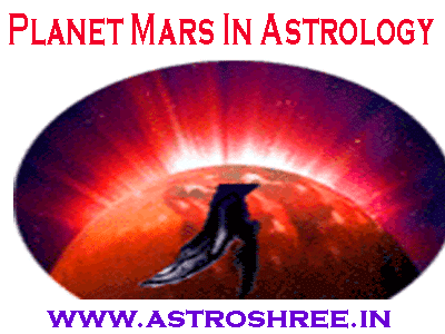 mars planet details as per astrology