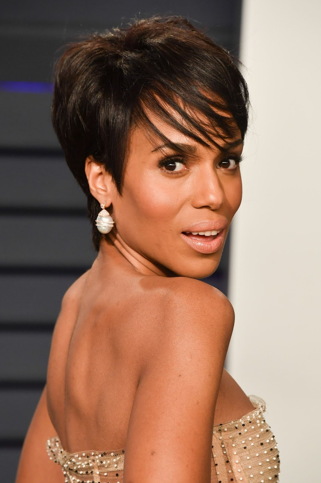 Kerry Washington's Oscars Pixie Cut Will Convince You to Go Short