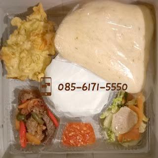 Harga Menu Catering Nasi Box di Jogja daging sapi
